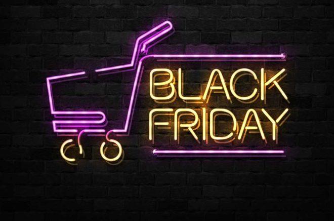 Black Friday är en av årets största handelsdagar - även för nätbokhandeln. Hur kommer det att bli i år? Illustration: iStock.