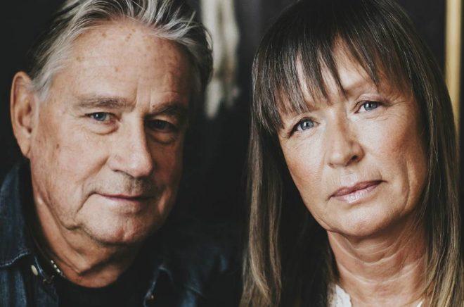 Författarna Rolf och Cilla Börjlind. Foto: Kajsa Göransson