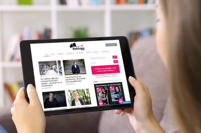 Över 155 000 unika besökare hade Boktugg.se under september månad. Rekord. Foto: iStock. Montage: Boktugg.