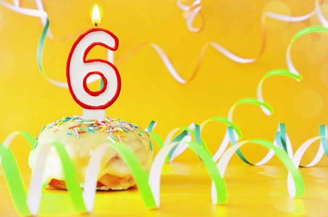 Boktugg fyller sex år den 17 juni 2020. Foto: iStock.