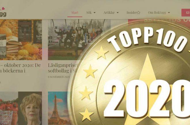 Boktugg är en av 100 sajter som finns med på IDG:s topplista över Sveriges 100 bästa sajter och nättjänster.