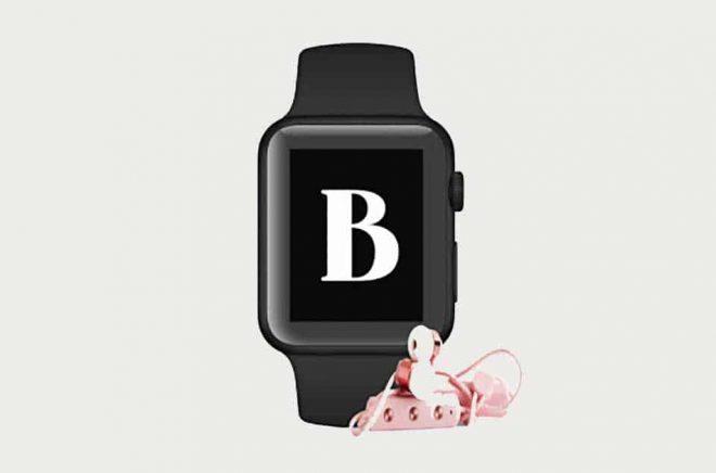 Nu kan du lyssna på ljudböcker via din BookBeat-app i Apple Watch. Pressbild: Bookbeat.