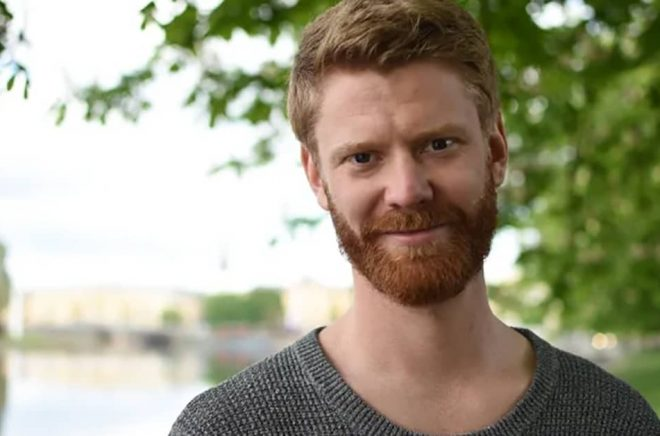 Jonas Ullström, ansvarig för Bookbeats nya Karlstadkontor. Foto: Alexandra Bergling.