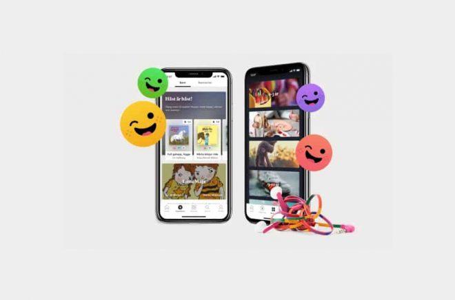 Bookbeat lanserar en barnversion av sin app.