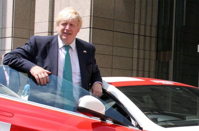 Boris Johnson, vid ett besök i Japan 2017 då han var utrikesminister för Storbritannien. Foto: UK in Japan- FCO (CC BY 2.0)