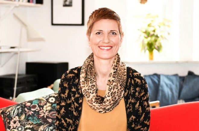 Camilla Persson, förändringsledare, föreläsare och författare. Foto: Patrik Lidforsen