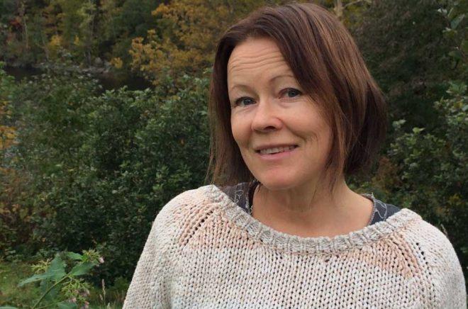 Carin Johansson, debuterar i november 2019 med en barnbok. Foto: Privat.