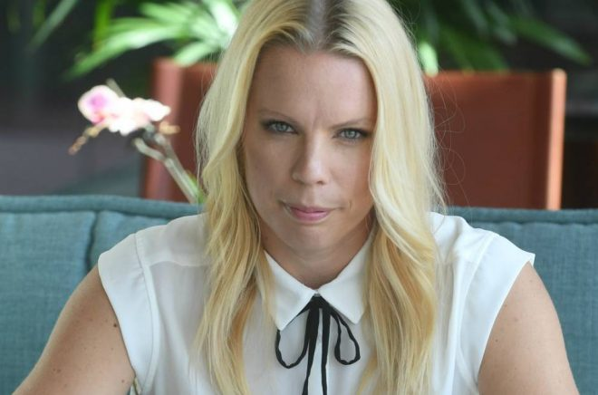 Författaren och journalisten Caroline Engvall.