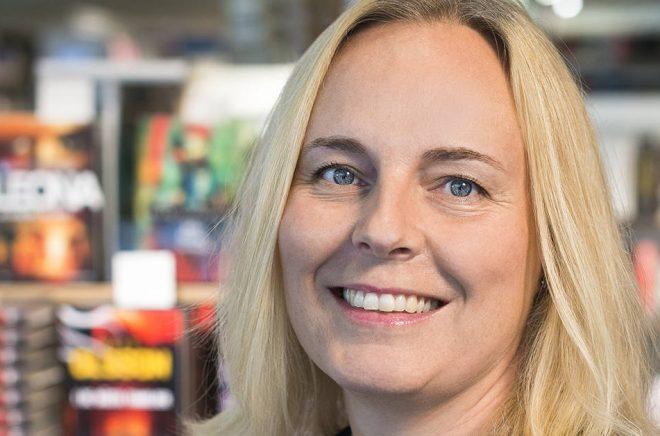 Cecilia Helsing, marknadschef på Akademibokhandeln.
