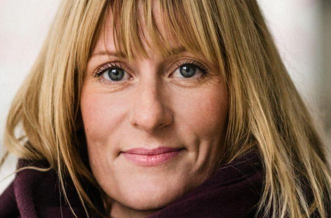 Författaren Cecilia Klang. Foto: Peter Cederling
