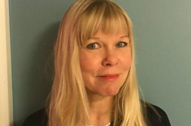 Cecilia Gustavsson, ny PR-ansvarig på Bokförlaget Polaris.