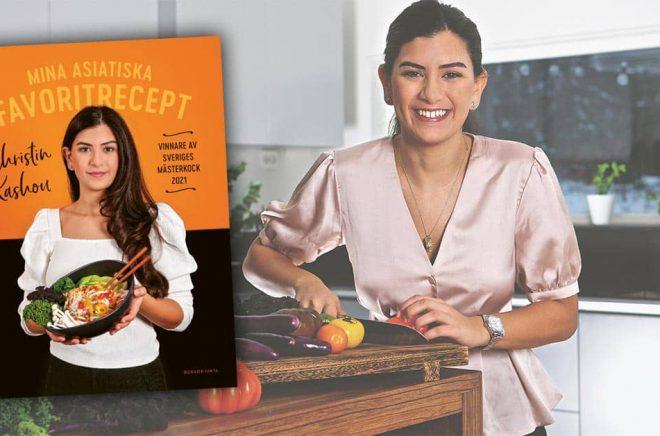 Christin Kashou är årets vinnare av Sveriges mästerkock, nu släpper hon sin bok Mina asiatiska favoritrecept. Foto: Frida Wismar