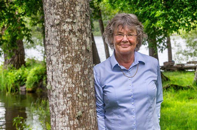 Christina Renlund, psykolog som varit redaktör för anhörigboken