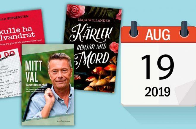 Den 19 augusti är författaren Veronica Roth född, liksom ett par andra kända författare. Dessutom släpps ett antal nya böcker, bland annat dessa tre. Bakgrundsfoto: iStock.