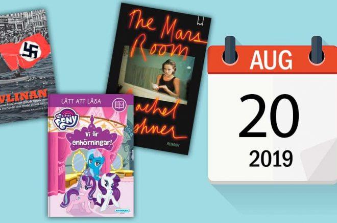 Den 20 augusti i litteraturen. Födelsedagar, bokutgivningar och en tillbakablick. Bakgrundsbild: iStock.