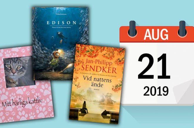 Författaren Megan Abbott fyller år idag den 21 augusti. Dessutom släpps bland annat dessa tre böcker. Bakgrundsbild: iStock.