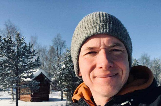 Författaren Daniel Åberg. Foto: Privat.