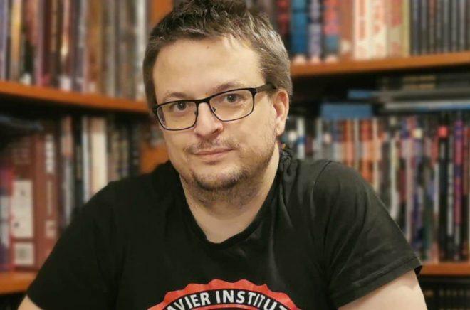 Daniel Lehto, författare och spelkonstruktör. Foto: Jenny Lehto