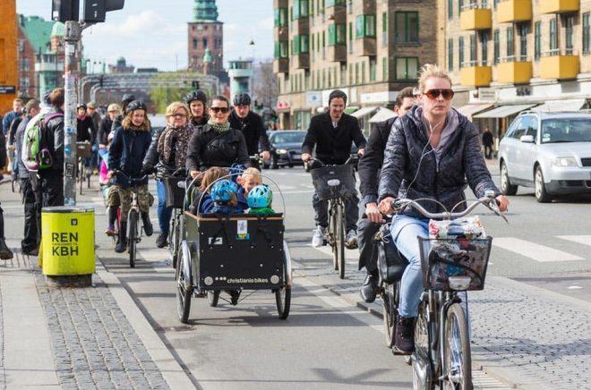 Danska cyklister - en potentiell målgrupp för Nextory när de lanserar i Danmark? Foto: iStock.