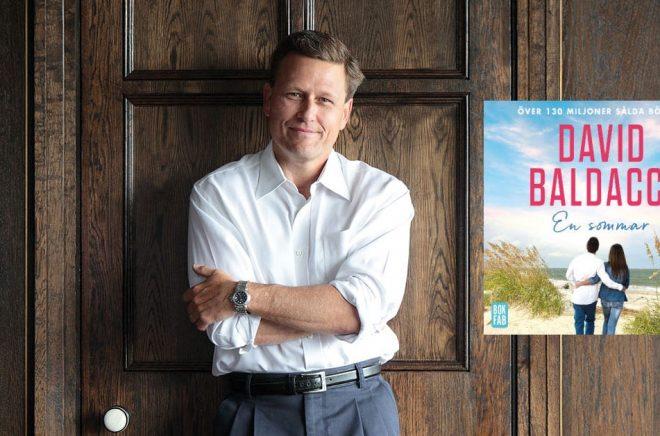 Författaren David Baldacci är mest känd för spänningslitteratur - nu släpper Bokfabriken en feelgood av honom. Foto: Pressbild.