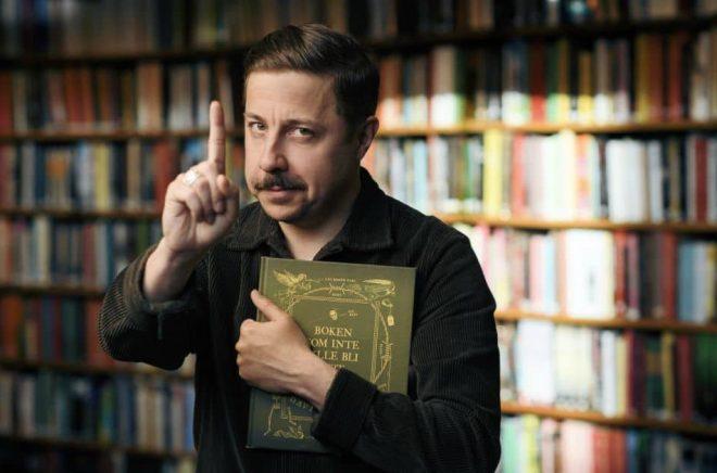 David Sundin, författare, komiker och skådespelare. Foto: Stefan Tell