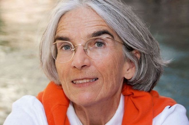 Författaren Donna Leon. Foto: Regine Mosimann/Diogenes Verlag AG Zürich
