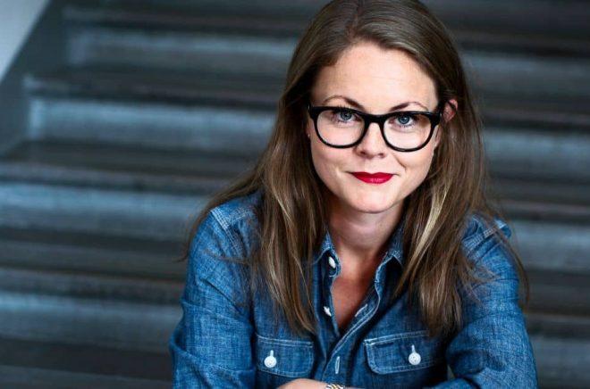 Ebba Östberg, förläggare på Forum. Foto: Caroline Andersson