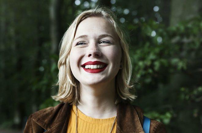 Ebba Hyltmark, författare. Foto: Anna Alexander Olsson