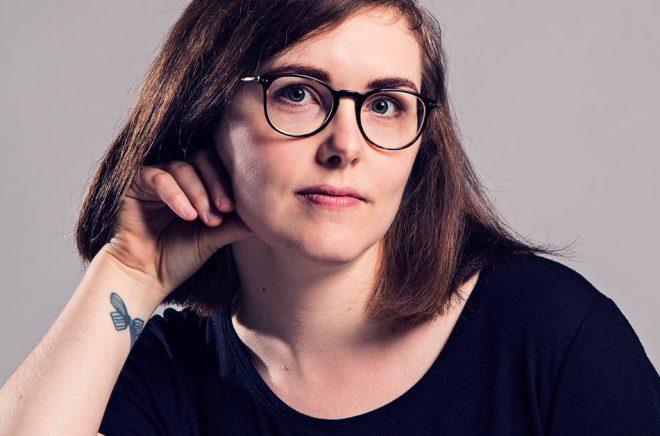 Elin Willows debuterade 2018 med boken Inlandet som nominerats till både Katapultpriset och Borås Tidnings debutantpris. Foto: Frank A. Unger