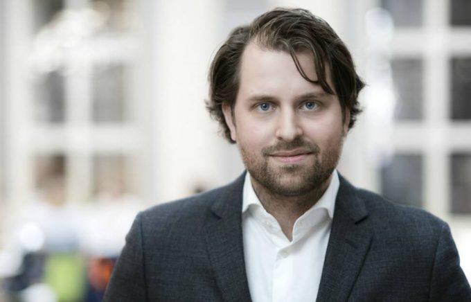 Erik Wikberg, forskare vid Handelshögskolan i Stockholm och rapportförfattare till Bokförsäljningsstatistiken. Foto: Nicklas Gustafsson