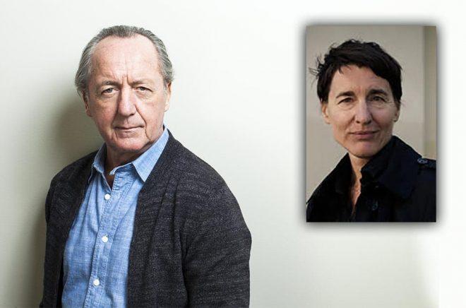 Författaren Ernst Brunner (foto: Caroline Andersson) och översättaren/författaren  Carin Franzen (foto: Cato Lein, pressbild) var två av de personer som belönades av Svenska Akademien för sitt arbete.
