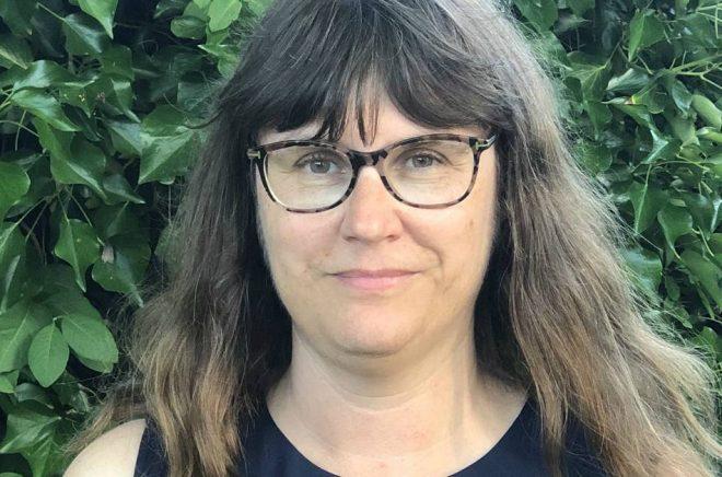 Eva Holmquist, författare och förläggare. Foto: Privat
