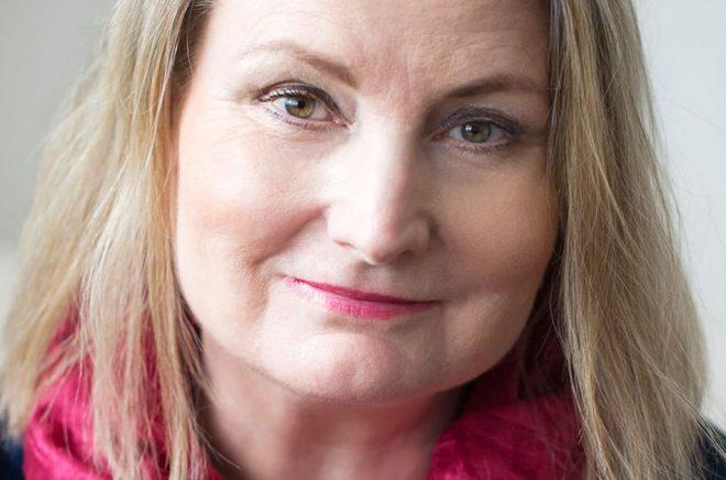 Ewa Åkerlind, förlagschef på Ordberoende förlag. Foto: Viktoria Davidsson