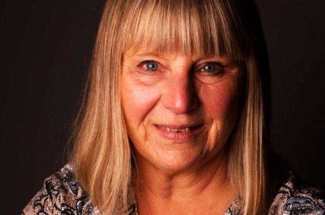 Författaren Ewa Klingberg. Foto: Hanna Åhman