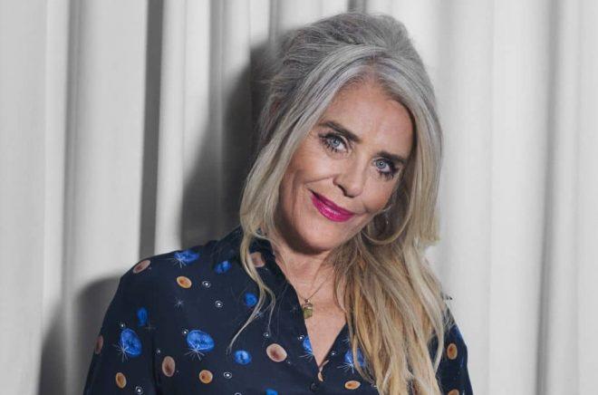 Skådespelaren Ewa Fröling debuterar som författare. Foto: Malin Nerby