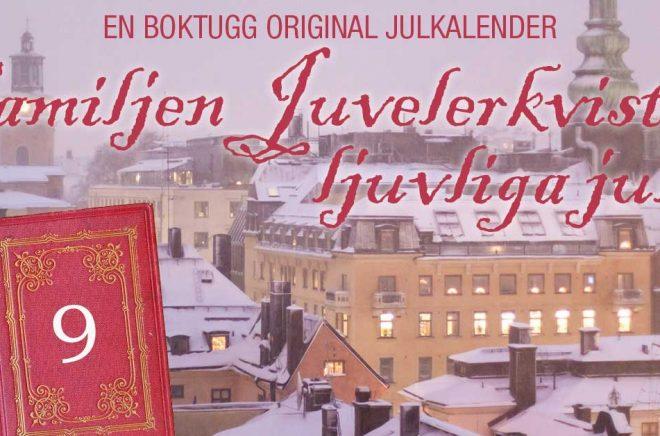 Familjen Juvelerkvists ljuvliga jul är Boktuggs Julkalender 2019. Foton: iStock. Montage. Boktugg.