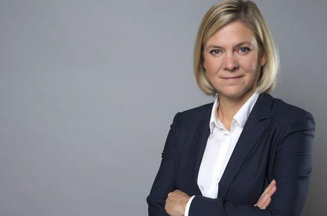 Finansminister Magdalena Andersson. Foto: Kristian Pohl/Regeringskansliet