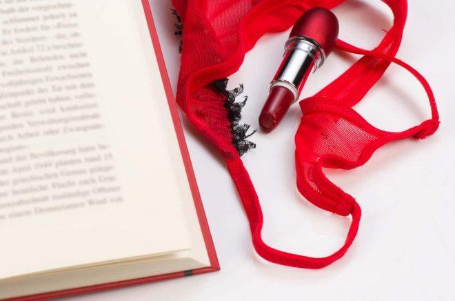 Det är inte lätt att sortera bland den erotiska litteraturen ...