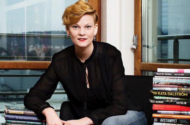 Frida Edman, affärschef för sektor Kultur & Media inom Svenska Mässan, vilket innebär att hon är ordinarie mässansvarig för Bokmässan. Foto: Svante Örnberg.
