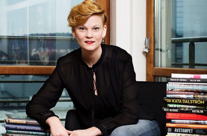 Frida Edman, mässansvarig för Bokmässan i Göteborg. Foto: Svante Örnberg.