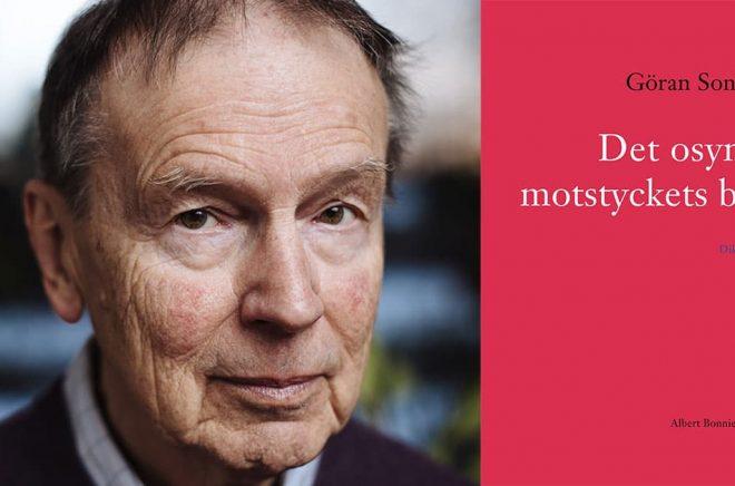 Lyrikern och översättaren Göran Sonnevi. Foto: Stefan Tell.