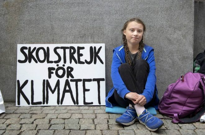 Greta Thunberg. Foto: Jessica Gow/TT