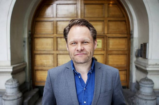 Håkan Rudels, VD för Bonnierförlagen.