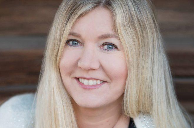 Författaren Hanna Blixt. Fotograf: Anna_Nygård.