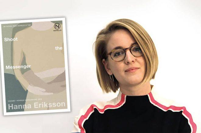 Hanna Eriksson vann Novellix stora novelltävling. Foto: Pressbild, Novellix.
