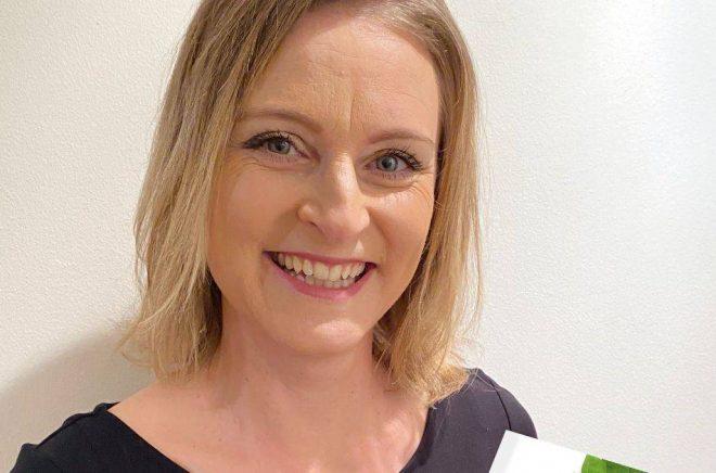Författaren Hanna Hell. Foto: Privat