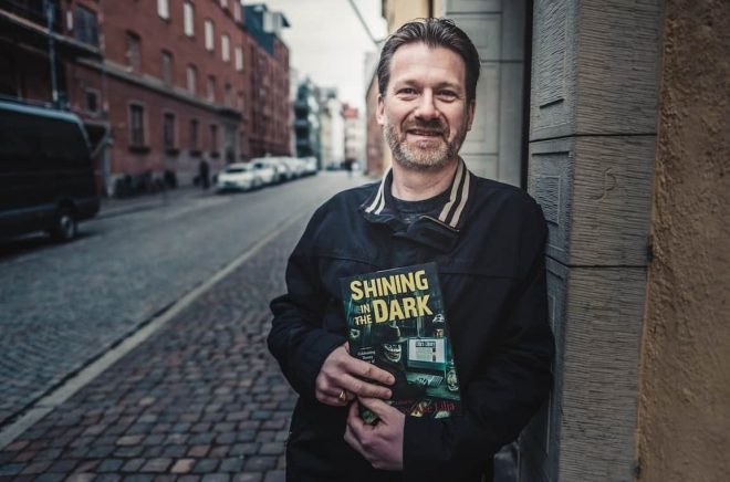 Hans-Åke driver världens största sajt om Stephen King och har träffat författaren flera gånger.