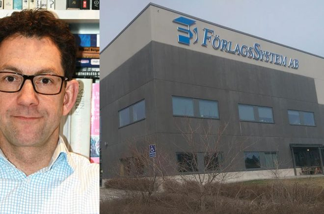 Harold Op het Veld blir ny VD för Förlagssystem.