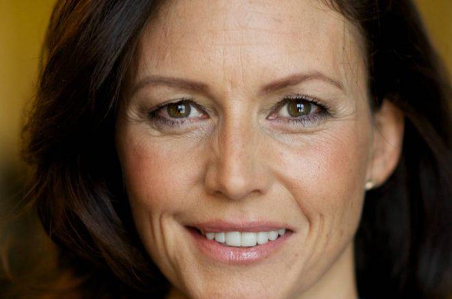 Patricia Hedelius, författare till boken Girighetens tid. Foto: Göran Segeholm