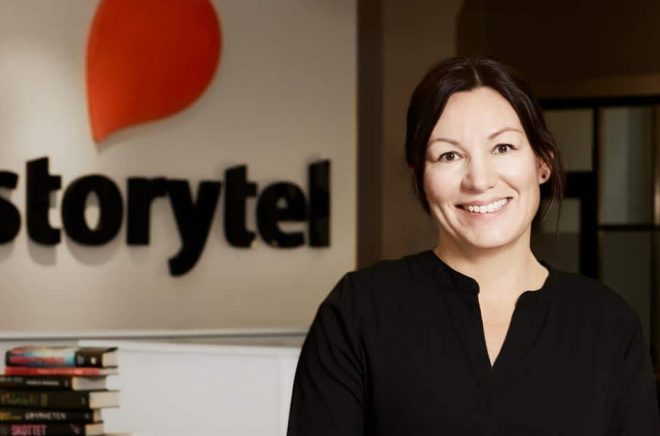 Helena Gustafsson tillträder den 1 juli 2020 en nyinrättad roll som Chief Content Strategy Officer (CCSO) på Storytel. Foto: Pressbild.
